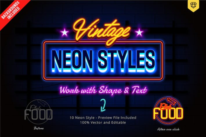 Thumbnail for Neon Text Effects