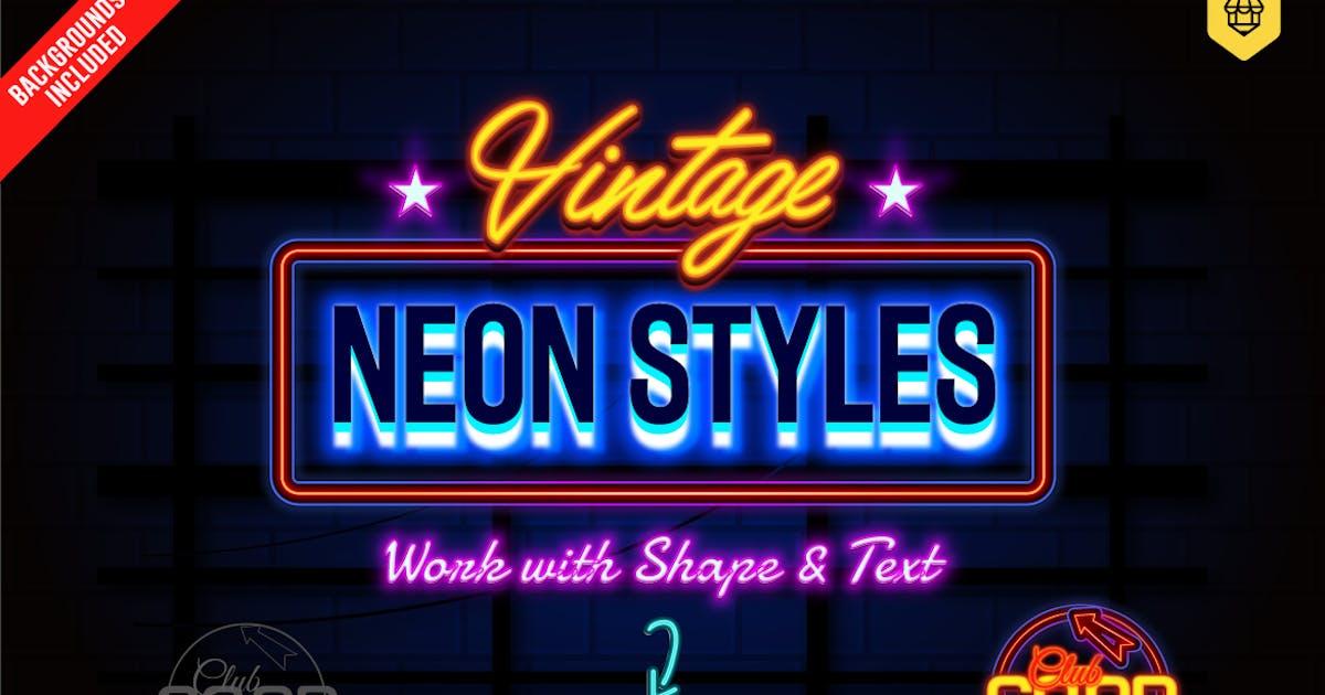 Download Neon Text Effects by designhatti