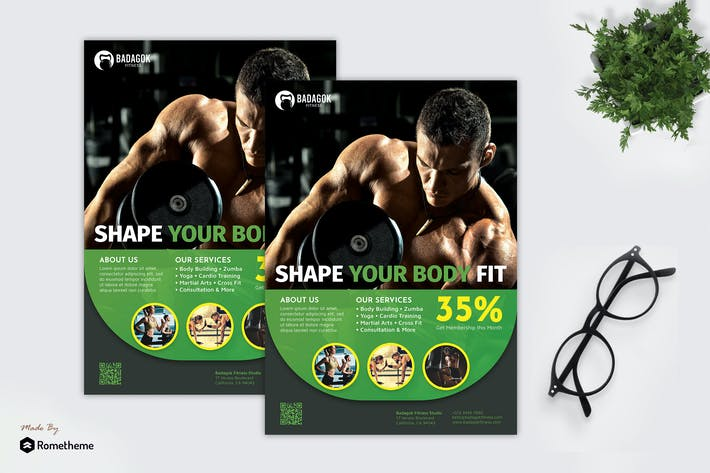 Thumbnail for Badagok Fitness - Promotion Flyer RB