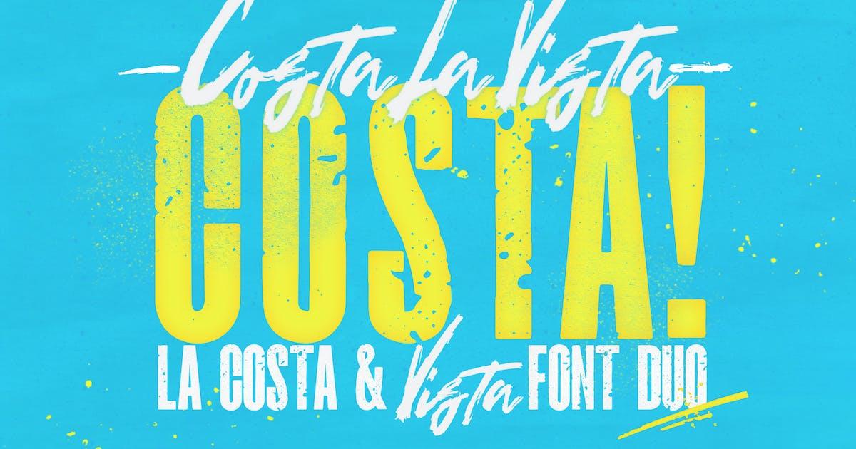 Costa La Vista Font by LeoSupply