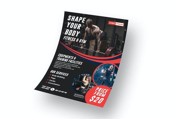 Thumbnail for Fitnessstudio - Flyer JW