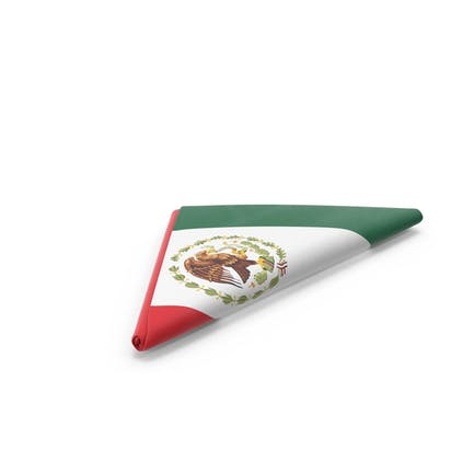 Gefaltete mexikanische Flagge