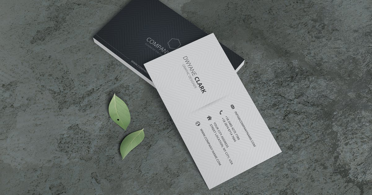 Download Minimalist Business Card Mockup Vol. 3.3 by indotitas