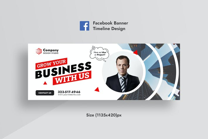 Promotional Corporate & Business Facebook Banner