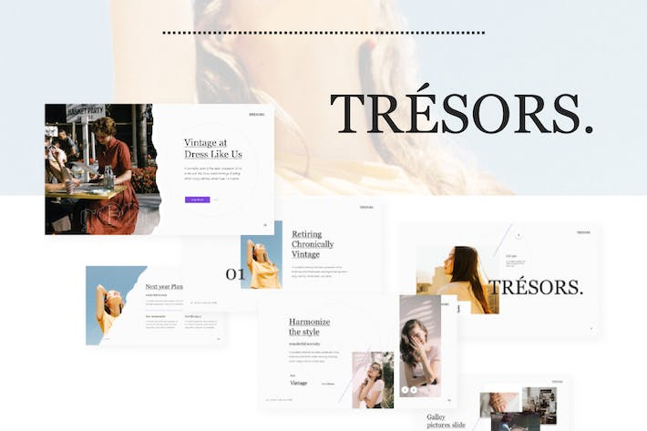 Tresors Multipurpose PowerPoint Template