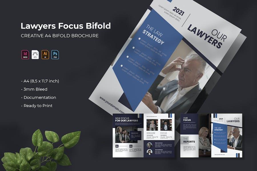 Lawyers Focus | Bifold Brochure