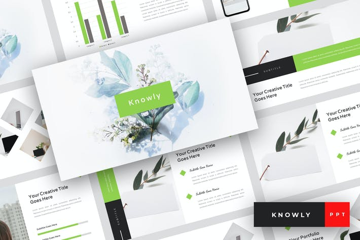 Cover Image For Knowly - Clean PowerPoint Template