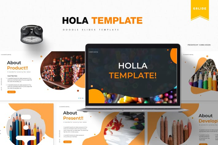 Thumbnail for Holla | Google Slides Template