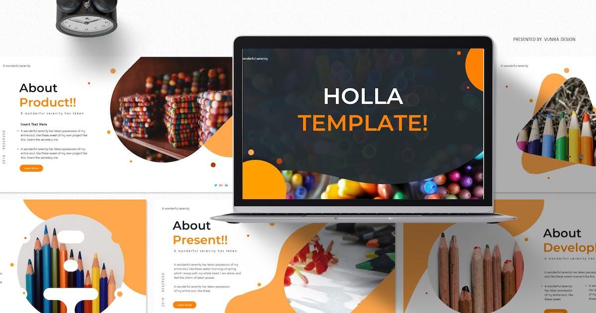Download Holla | Google Slides Template by Vunira