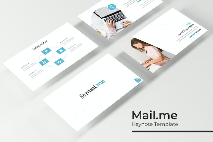 Thumbnail for Mail.me - Keynote Template