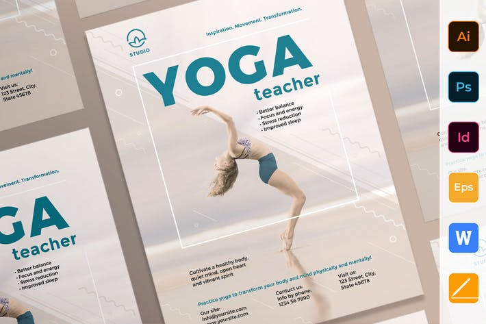 Thumbnail for Yoga Instructor Poster