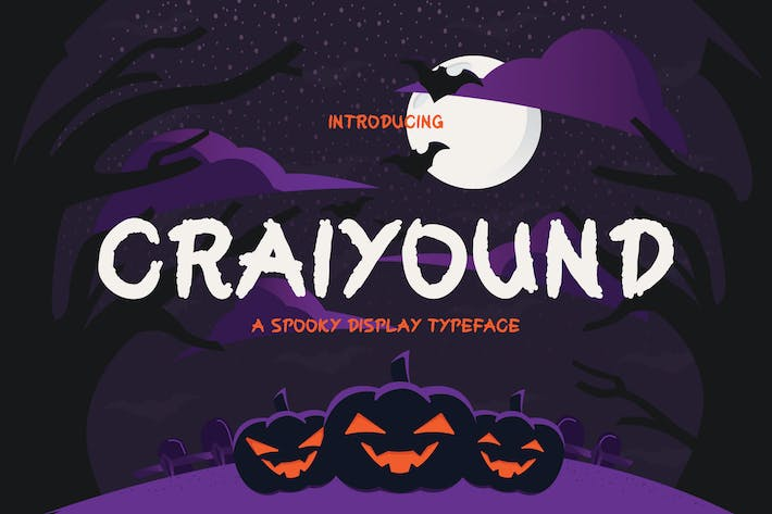 Cover Image For Craiyound - Brush Font DR