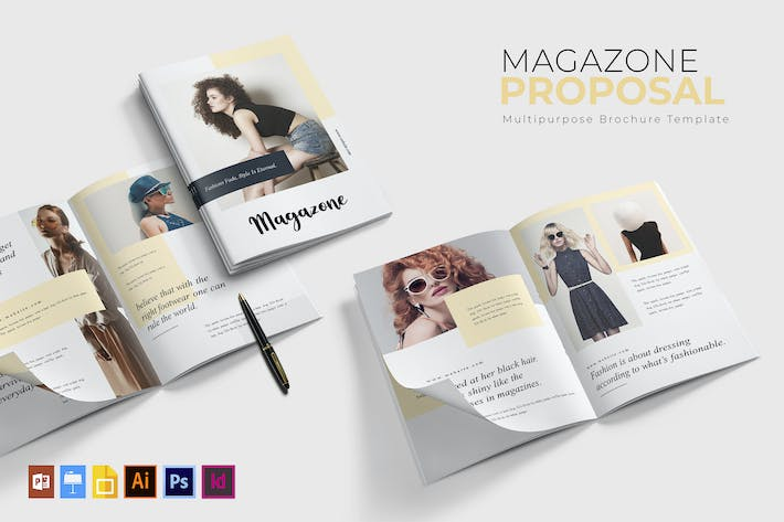 Cover Image For Magazone | Brochure