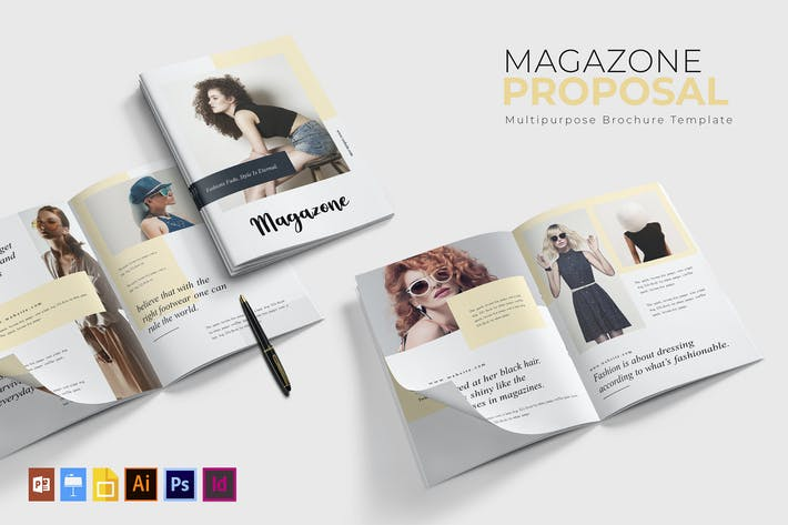 Thumbnail for Magazone | Brochure