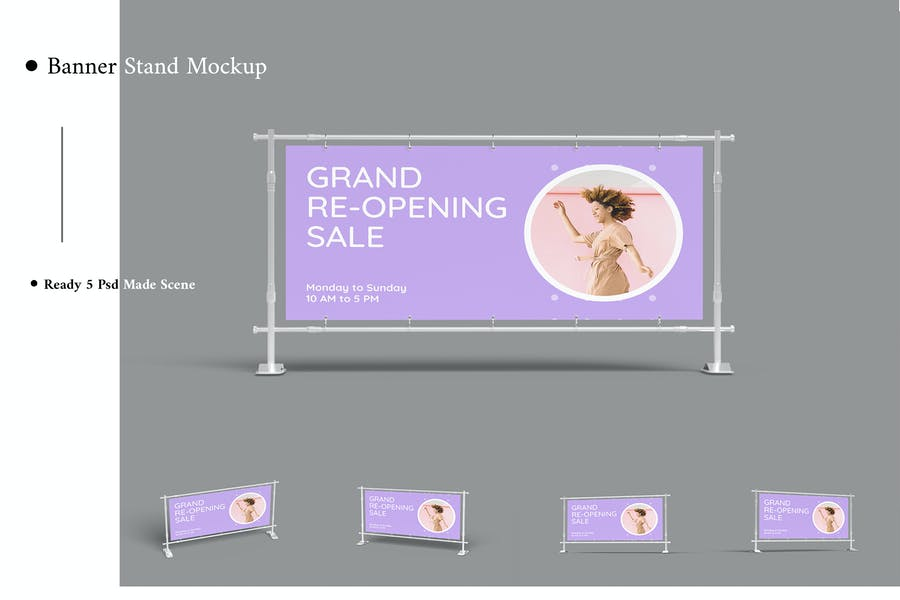 Banner Stand Mock-Up