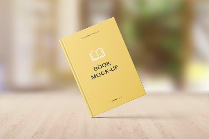 Thumbnail for Book Mockup - Set 3