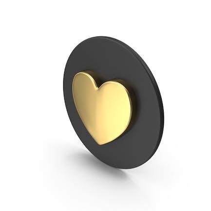 Золотая любовная икона