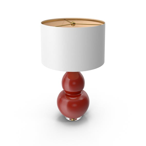 Cover Image for Pop Color Modern Table Lamp Oxblood Red