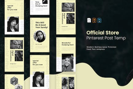Official Store   Pinterest Cover