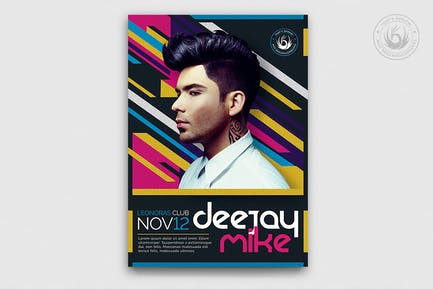 DJ Guest Flyer Template V5