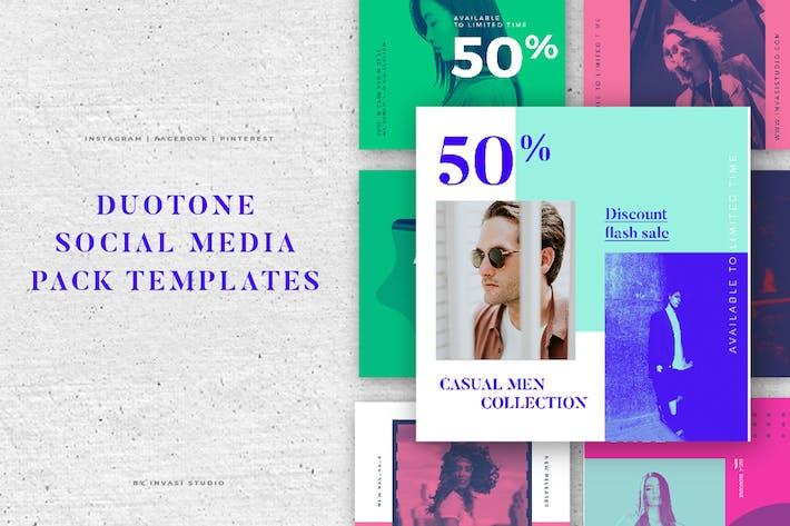 Thumbnail for DUOTONE Social Media Brand Pack