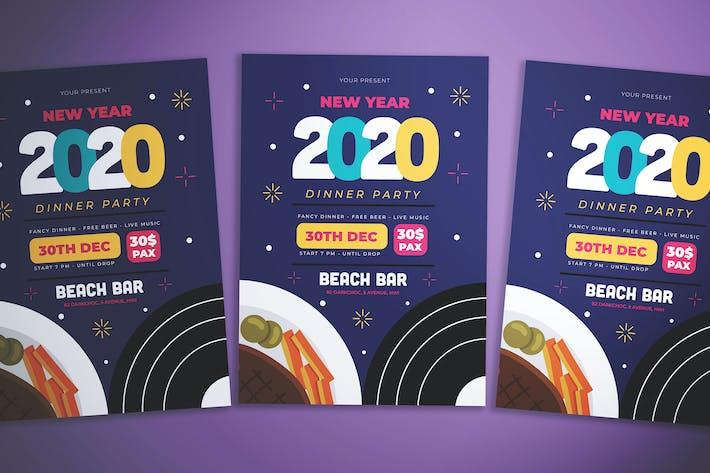 Thumbnail for New Year Dinner Flyer