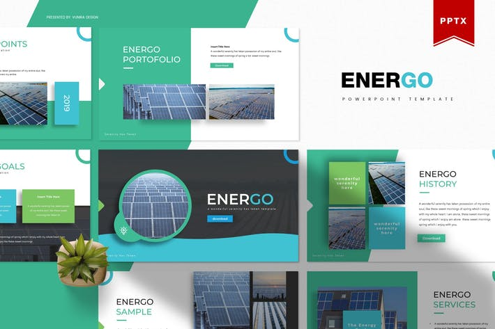 Thumbnail for Energo | Powerpoint Template