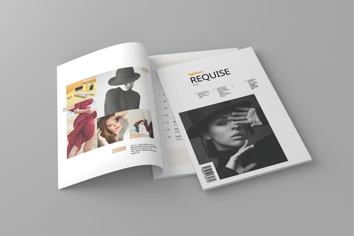 Thumbnail for Requise - Magazine Template