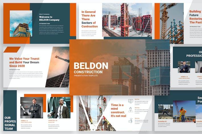Thumbnail for Construção Beldon - Keynote
