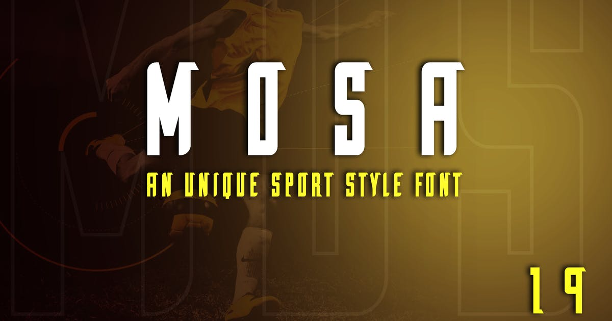 Download Mosa Exclusive Display Font by ovozdigital