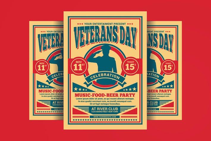 Thumbnail for Veterans Day Flyer