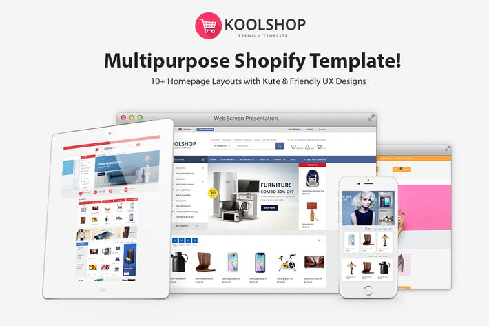 Thumbnail for KoolShop - Responsive Shopify Thème