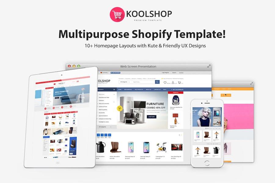 KoolShop - Responsive Shopify Theme