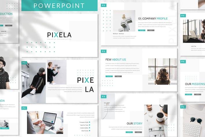 Thumbnail for Pixela - Plantilla de PowerPoint empresarial