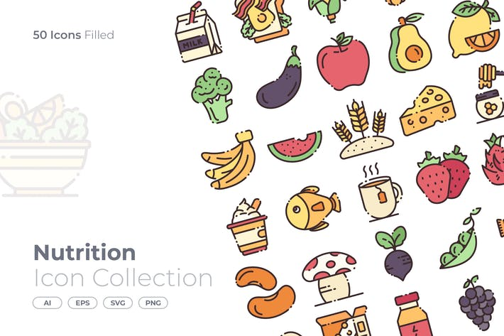 Thumbnail for Nutrition Filled Icon