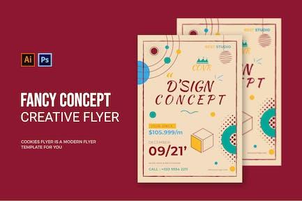 Fancy Concept - Flyer