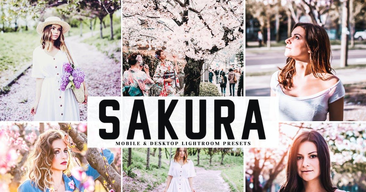 Download Sakura Mobile & Desktop Lightroom Presets by creativetacos