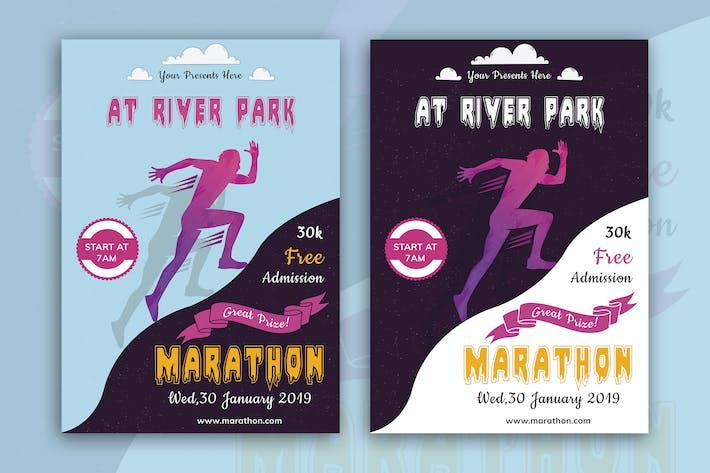 Thumbnail for Marathon Event Flyer-03