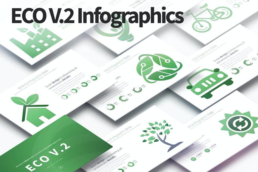 ECO V.2 - PowerPoint Infographics Slides