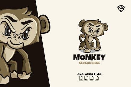 Monkey - Logo Mascot