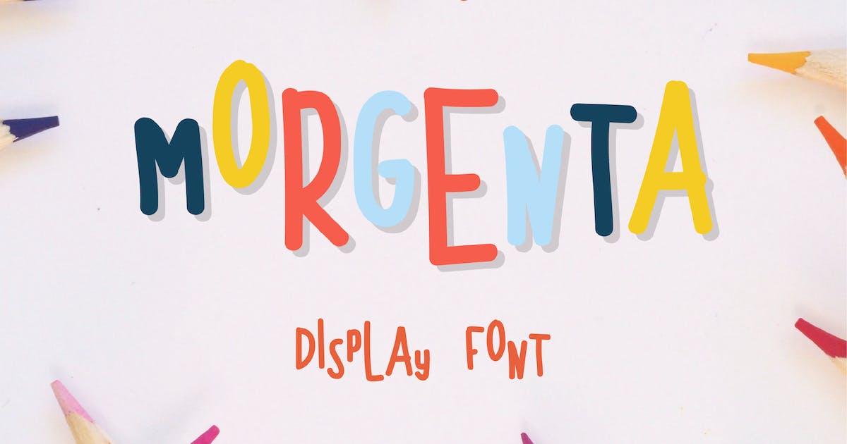 Download Morgenta Fun Font v.FH04 by GranzCreative