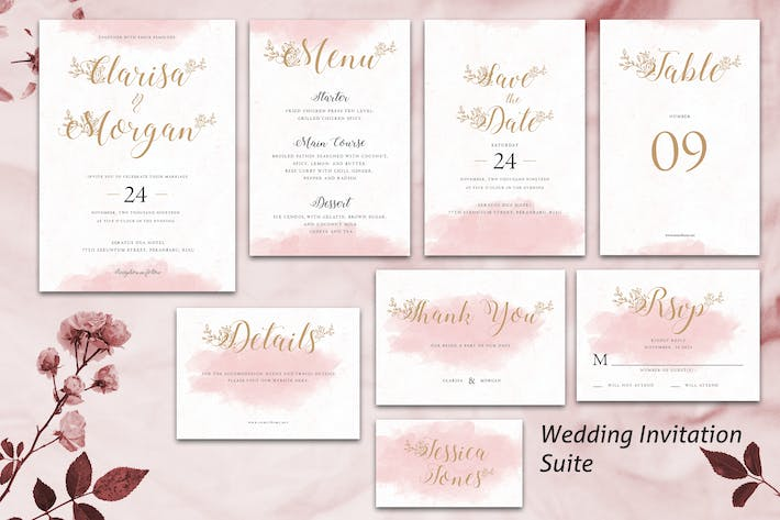 Wedding Invitation Suite vol. 03 YR