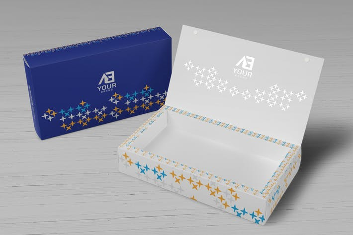 Thumbnail for Package Box Mockups Vol7