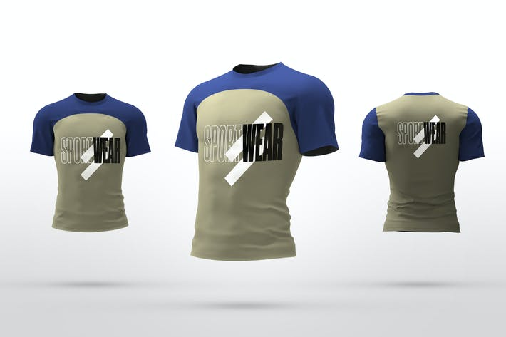 Thumbnail for Sport T-Shirt Mockups