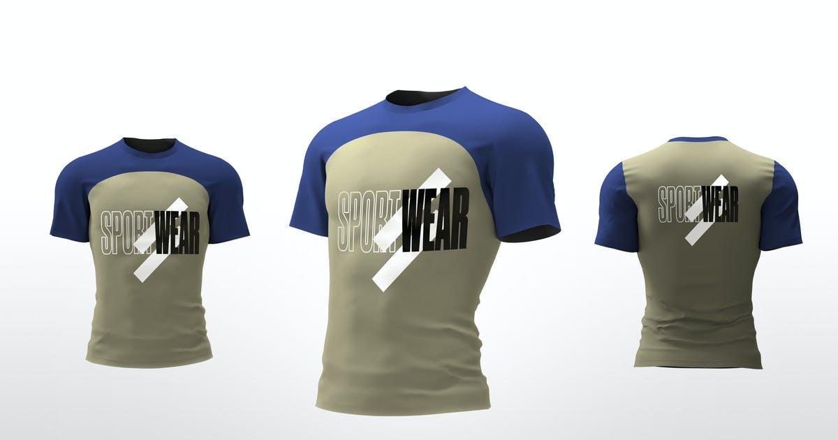 Download Sport T-Shirt Mockups by Stockware