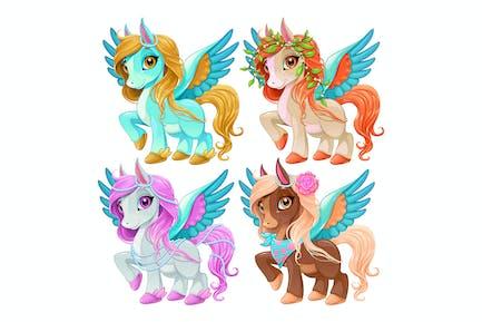 Baby Pegasus für Freiheit und Magie