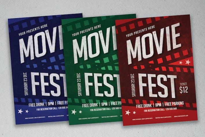 Thumbnail for Movie Fest Flyer