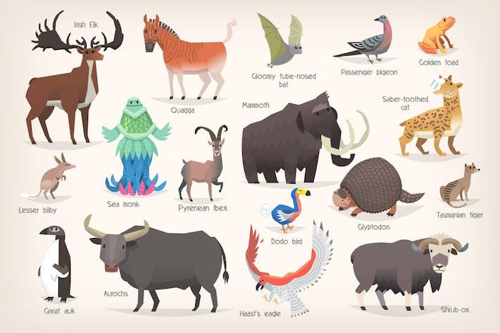 Thumbnail for Extinct  Animals