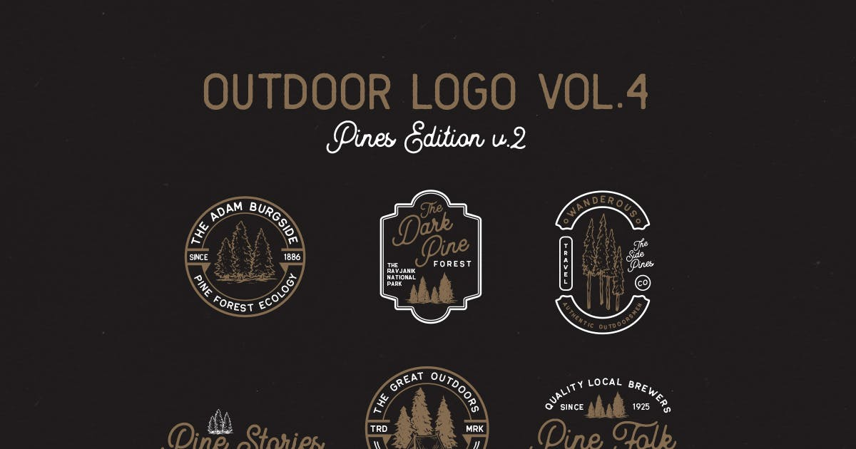 Download Outdoor Logo Vol.4 by letterhend