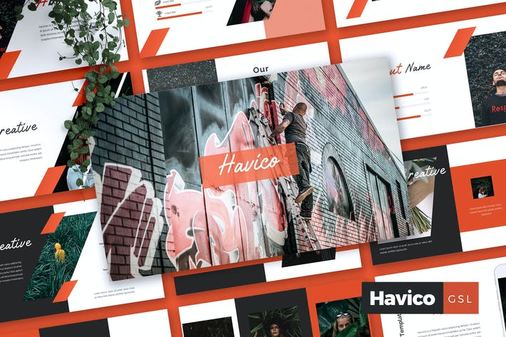 Thumbnail for HAVICO - Creative Google Slides Template